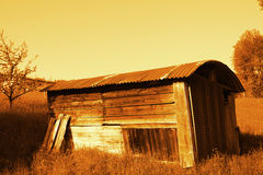 Old shed Stock Image
