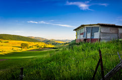 Old shed in Collecroce. Stock Photography