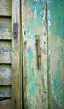 Old shed door Stock Photo