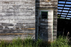 Old shed and door. Royalty Free Stock Images