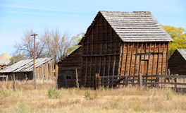 Old Shed in Farming Community Royalty Free Stock Photos
