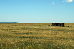 Old Shed in Field Royalty Free Stock Photography