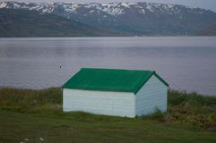 Old shed in Iceland Stock Photography
