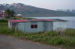 Old shed in Iceland Royalty Free Stock Photography