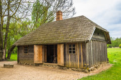 Old shed in Lithuania Stock Image