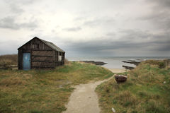 Old shed, Northumberland Royalty Free Stock Photos