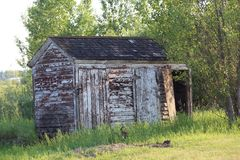 The old shed Royalty Free Stock Photos