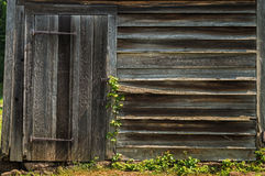 Old Shed stock photo