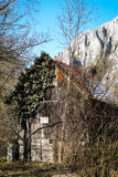Old Shed - Turda Gorge - Cheile Turzii, Transylvania, Romania Stock Photo