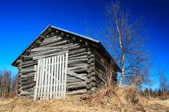 old shed wooden Στοκ Εικόνες