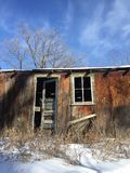 An Old Shed. An Old Worn Down Shed Royalty Free Stock Photography