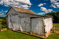 Old shed in York County, Pennsylvania. Stock Photos