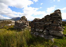 Old sheepfold ruin Stock Image