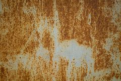 Background rusty light gray metal. royalty free stock photography
