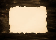 Old sheet of paper Royalty Free Stock Photos