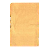Old sheet of paper Royalty Free Stock Photo