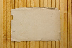 Old sheet of parchment Stock Photography