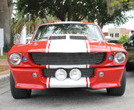 Old Shelby Cobra car. The old Shelby Cobra GT 350 car at the show Royalty Free Stock Image