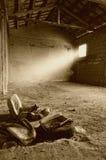 Old  shelter Stock Photo