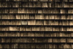 Old shingles background Royalty Free Stock Photos
