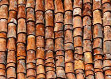 Old shingles a the roof Stock Image