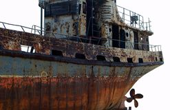 Old ship Royalty Free Stock Images