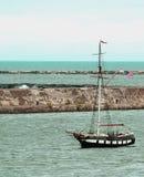 Old ship. In lake ontario Stock Photos