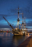 Old ship. St. Petersburg. Stock Photo