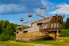 Old ship Royalty Free Stock Image