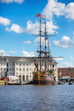 The old ship, Amsterdam Stock Image