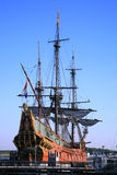Old ship - Batavia Stock Photo