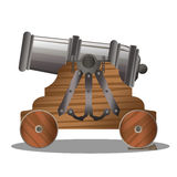 Old ship cannon Royalty Free Stock Photo