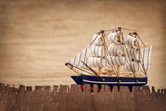 Old ship decoration Royalty Free Stock Photography