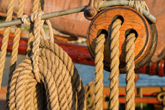 Old ship details. Royalty Free Stock Images