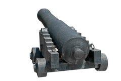 Old ship gun Stock Photography