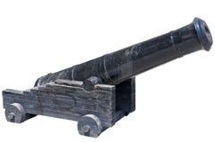 Old ship gun Royalty Free Stock Photography