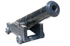 Old ship gun Stock Photo