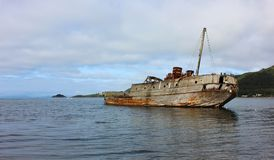 Old ship laid up. Royalty Free Stock Photography