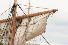 Old ship mast Royalty Free Stock Image