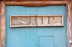 Old ship pub sign Royalty Free Stock Photo