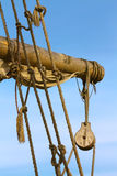 Old ship rigging Royalty Free Stock Images