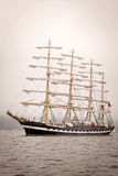 Old ship sailing Stock Images