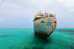 Old ship wreck Royalty Free Stock Photography