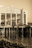 Old shipping hall. In richmond, ca, called the craneway pavilion Royalty Free Stock Photo