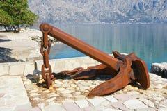Old ships anchor Stock Photo