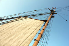Old ship´s pole Royalty Free Stock Images