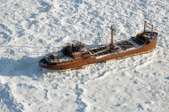Free Old Shipwreck Royalty Free Stock Photography - 50006927