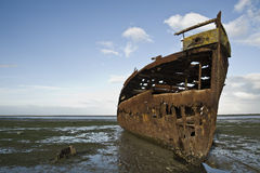 Old Shipwreck Royalty Free Stock Photo