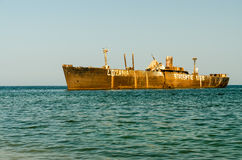 Old Shipwreck royalty free stock images