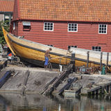 Old shipyard in the village of Spakenburg Royalty Free Stock Image